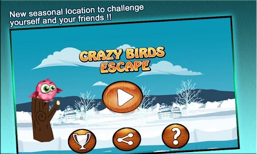 Crazy Birds Escape:Flying Game - screenshot thumbnail