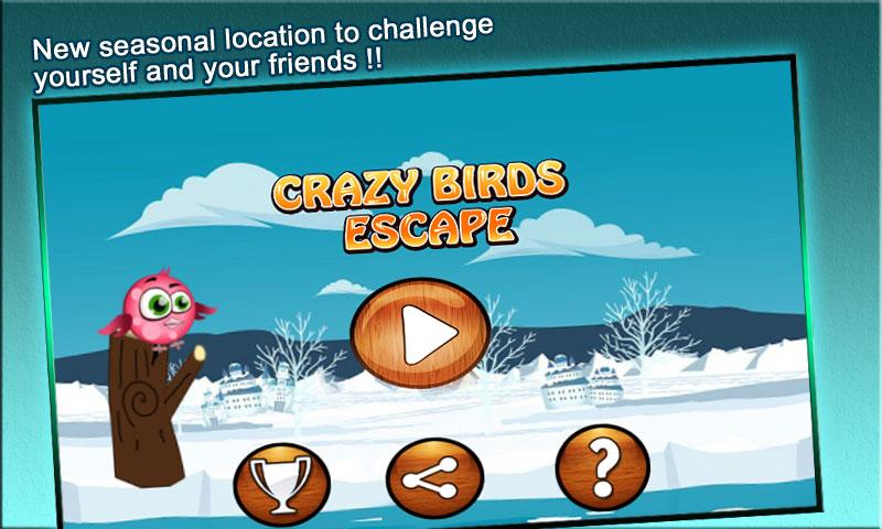Crazy Birds Escape:Flying Game - screenshot