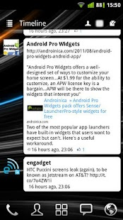 APW Widgets- screenshot thumbnail