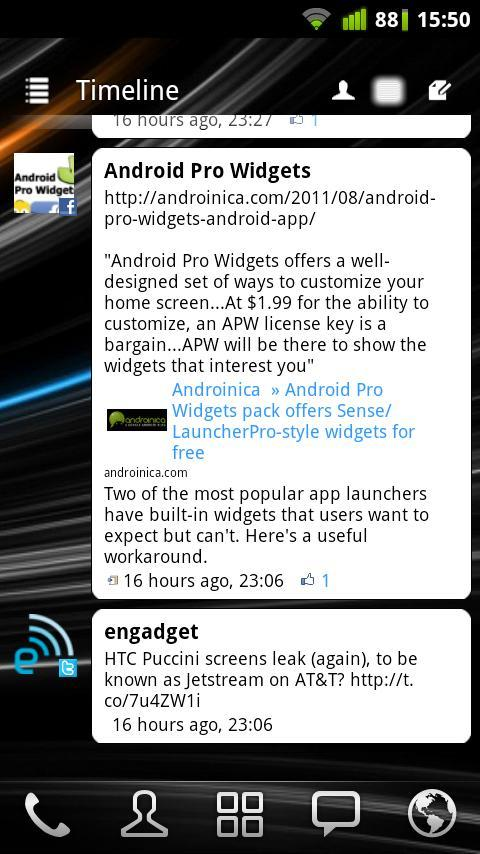 Android Pro Widgets - screenshot