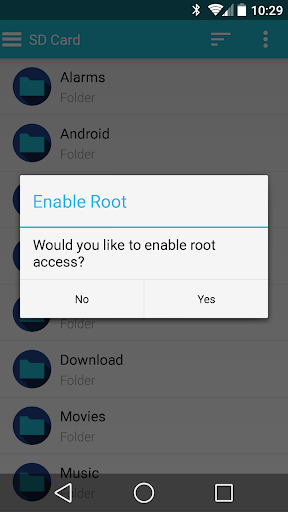 Folders Root File Manager