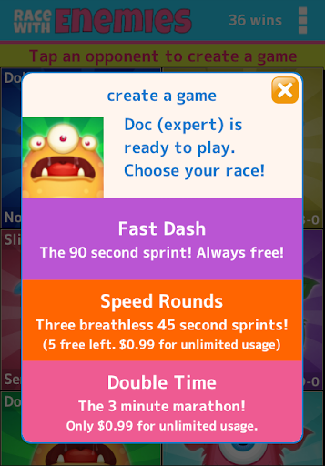 Race With Enemies