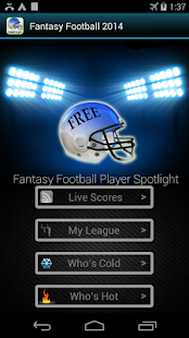 Fantasy Football -Hide My Text- screenshot thumbnail