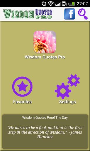 Wisdom Quotes Pro