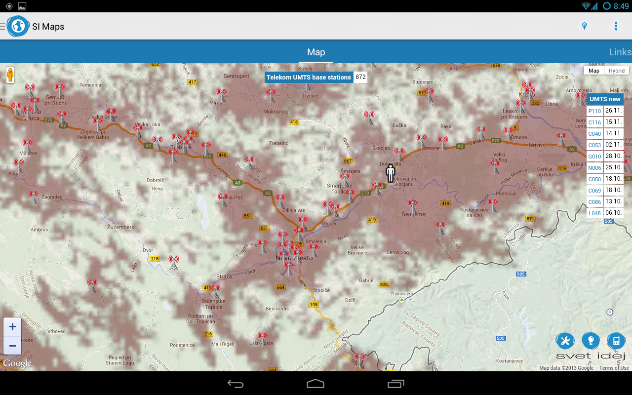 SI Maps - screenshot