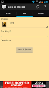 Package Tracker screenshot 1