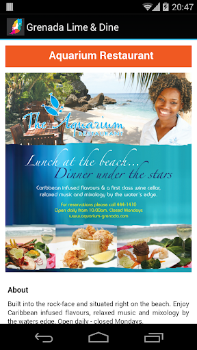玩旅遊App|Grenada Lime & Dine免費|APP試玩