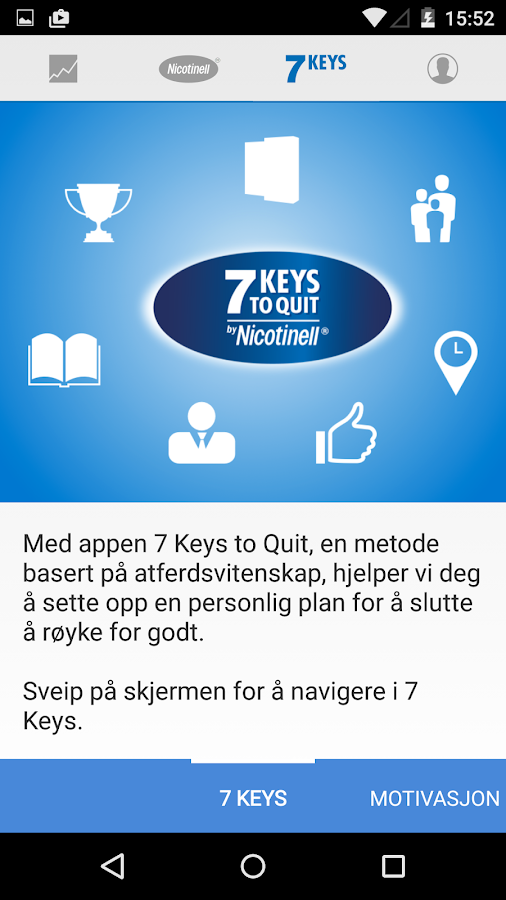 7 Keys to Quit (Norway) - OLD VERSION- screenshot