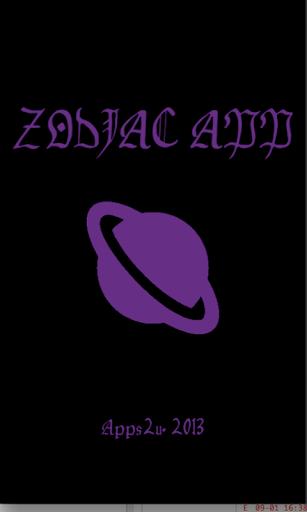Zodiac app