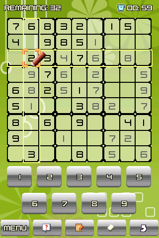 Platinum Sudoku® - screenshot