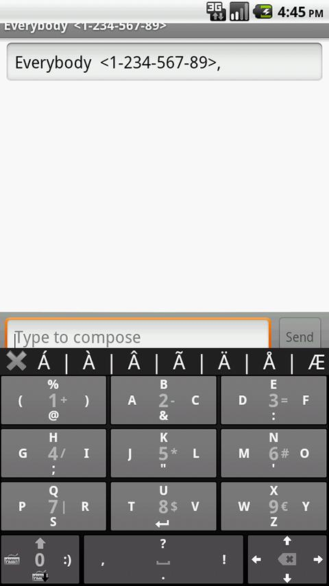 No Errors Keyboard - screenshot