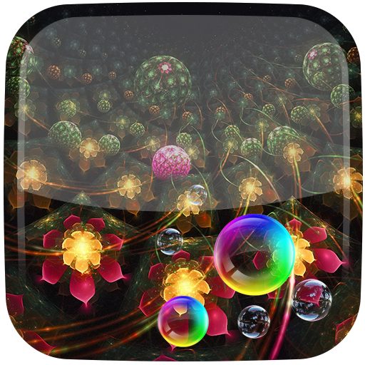 Fantasy Flowers Live Wallpaper app (apk) free download for Android/PC/Windows