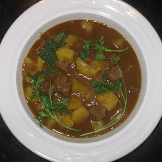 Beef & Potato Curry.