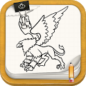 Draw Fairy Tale Monsters icon