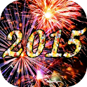 2015 Fireworks Countdown LWP icon