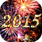 2015 Fireworks Countdown LWP icon