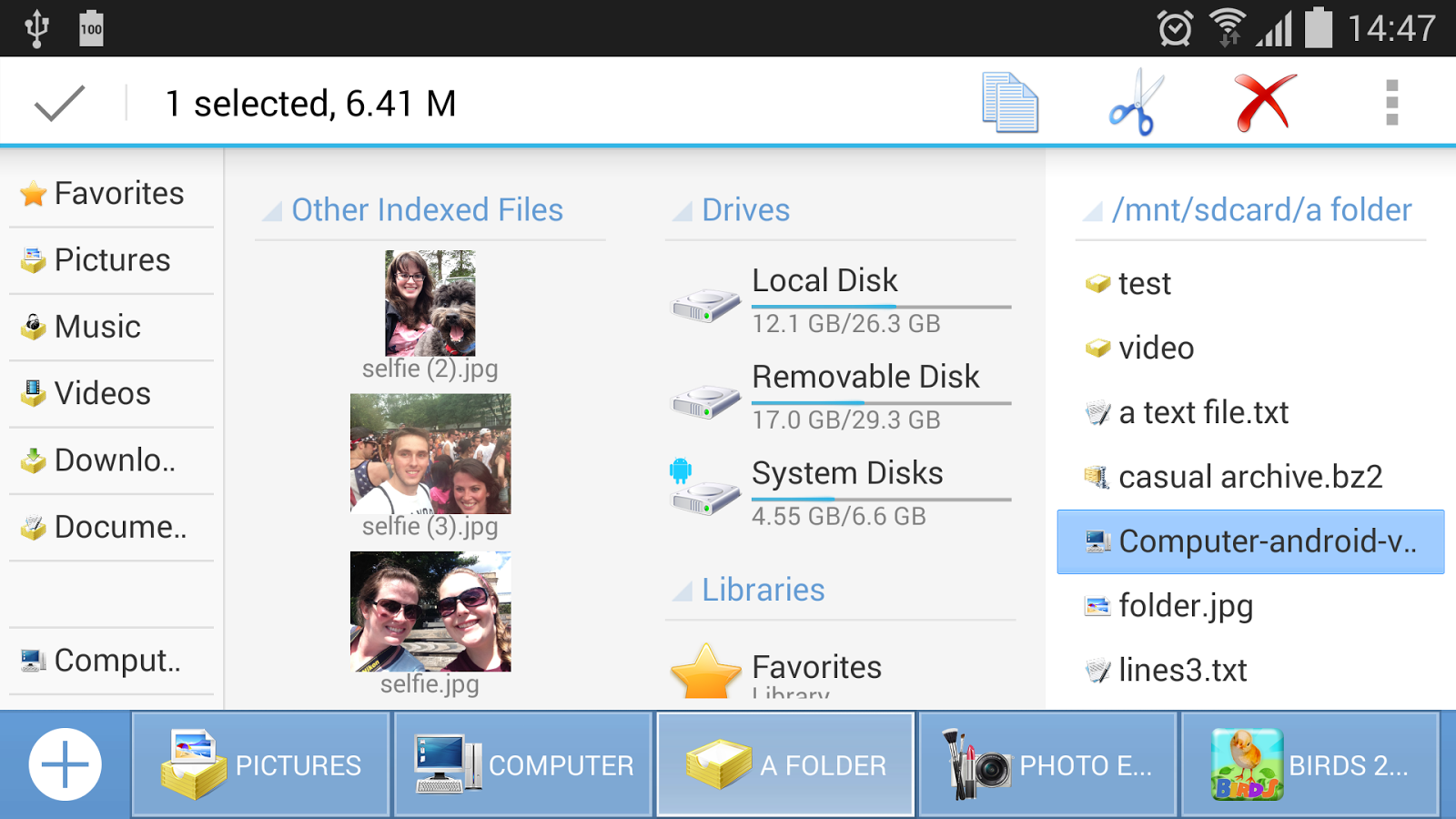 Computer File Explorer: captura de tela