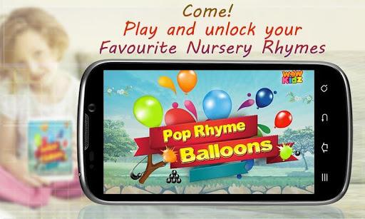 Pop Rhyme Balloons