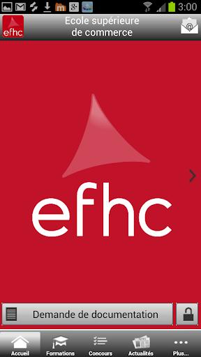 EFHC Ecole de Commerce Paris