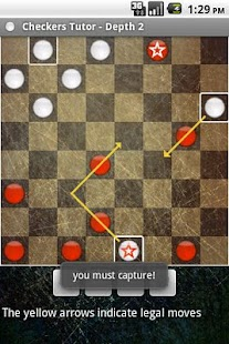 Checkers Tutor- screenshot thumbnail