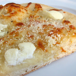 Three Cheese White Pizza