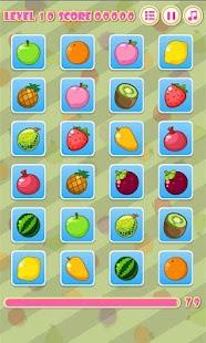 記憶遊戲 Fruit Matching