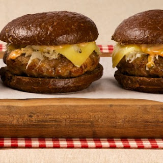 Reuben Burgers CBC Best Recipes Ever.