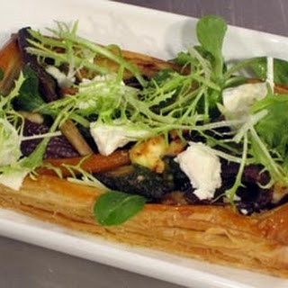 Honey-Roasted Baby Vegetable Tart Recipe