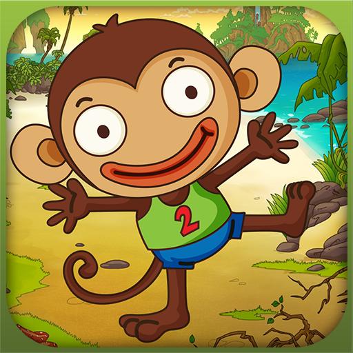 Super Monkey jungle Jump LOGO-APP點子