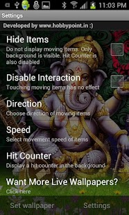 Shri GANESHA HQ Live Wallpaper- screenshot thumbnail