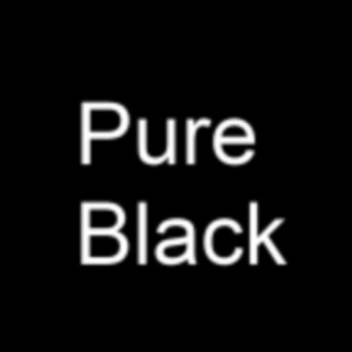 个人化の純粋な黒の壁紙 LOGO-記事Game