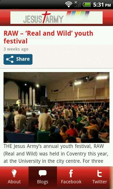 Jesus Army- screenshot