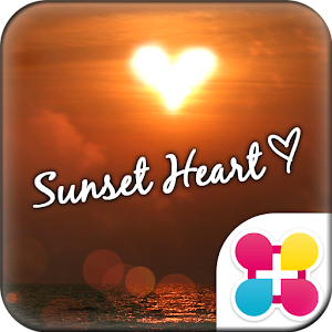 Sunset Heart for[+]HOME