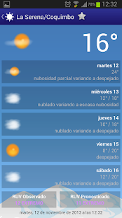 Meteorología Chile - screenshot thumbnail