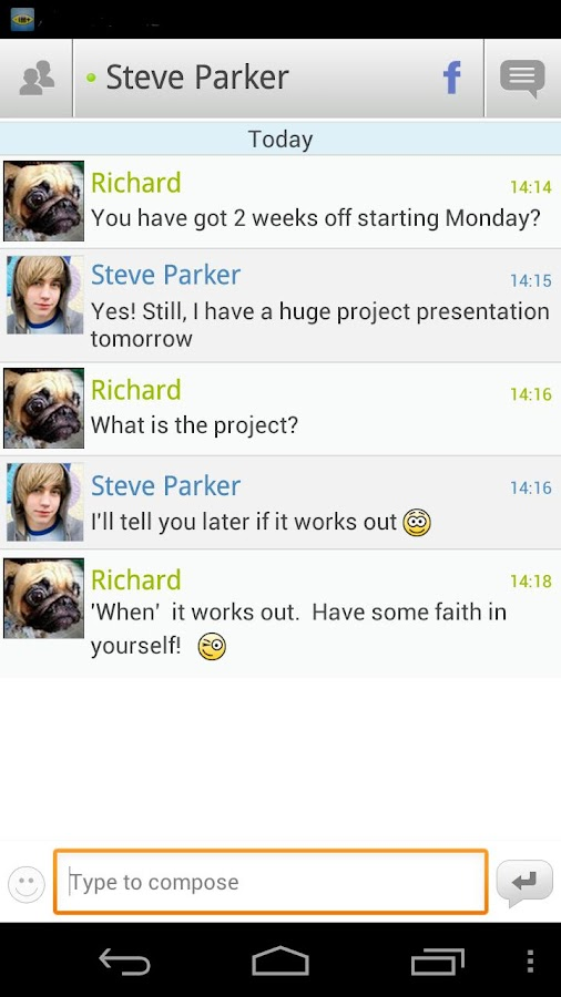 IM+ Pro - screenshot