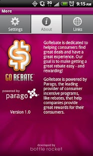 GoRebate Mobile - screenshot thumbnail