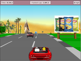 Screenshot of Speed Car Game in Saudi arabia