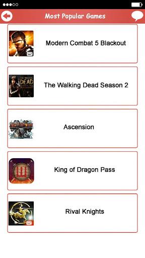 Most Popular Games