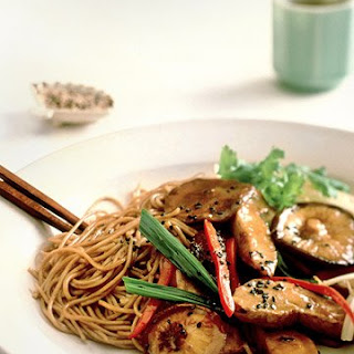 Stir-Fried Chicken with Noodles.