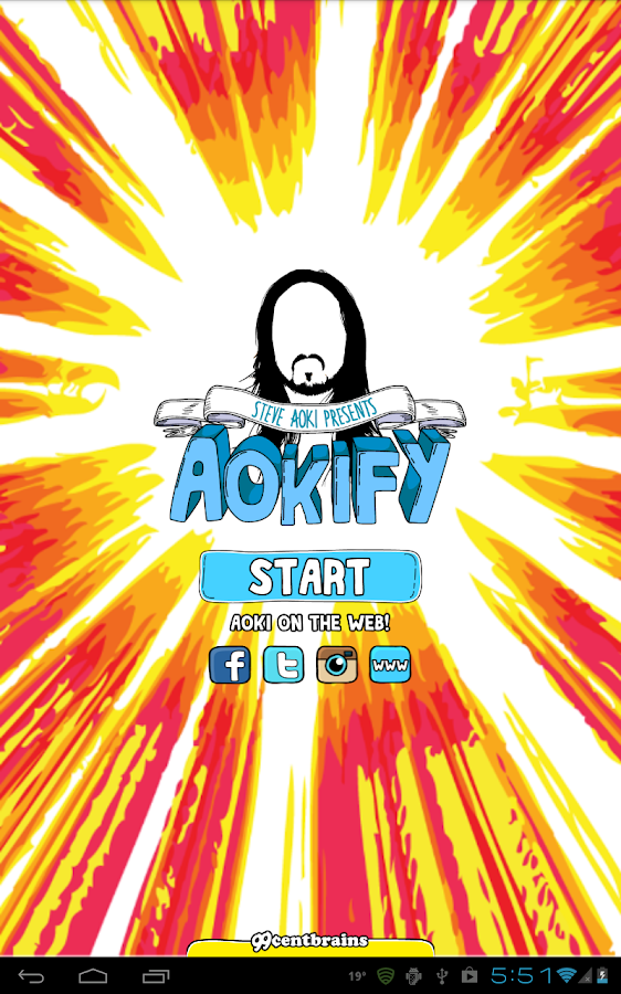Steve Aoki's Aokify- screenshot