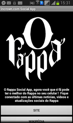 O Rappa Social App