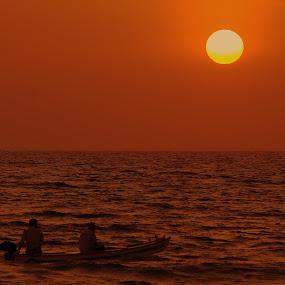 by Abhishek Majumdar - Landscapes Sunsets & Sunrises