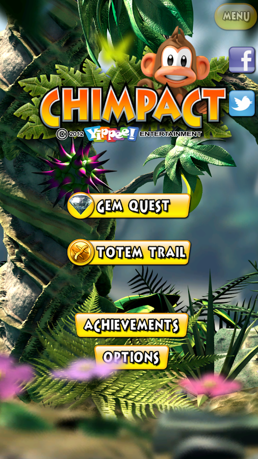 Chimpact - screenshot