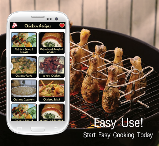 鸡肉食谱:免费应用程序
