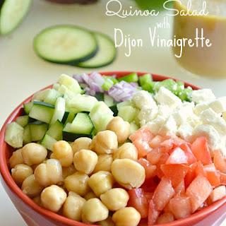 Healthy Hybrid Quinoa Salad with Dijon Vinaigrette Recipe