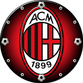 AC Milan Clock Widget