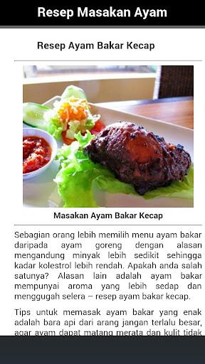 Resep Masakan Ayam Lengkap