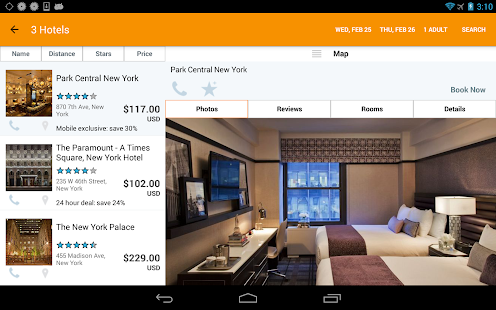 Hotels, HotelPlanner.com Deals - screenshot thumbnail