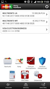 mBank - former MultiBank - screenshot thumbnail