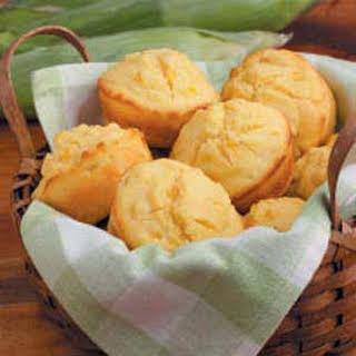 Sunny Corn Bread Muffins.